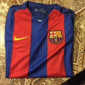 FC Barcelona 2016/2017 Home Jersey Small New